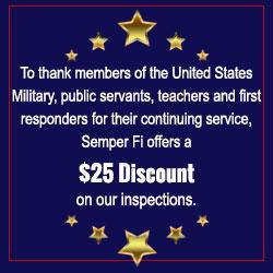 Semper Fi offers a $25 discount
