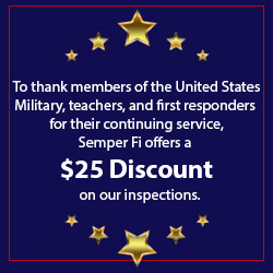 Semper Fi offers a $25 discount